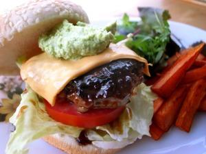Pika Pika burger