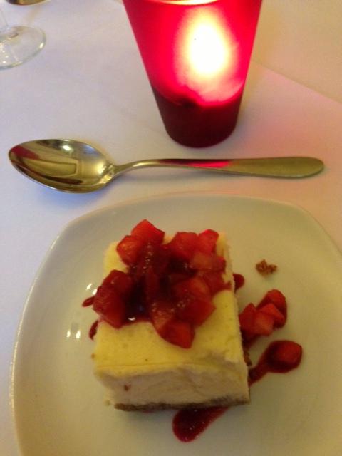 Sweet As strawberry cheesecake