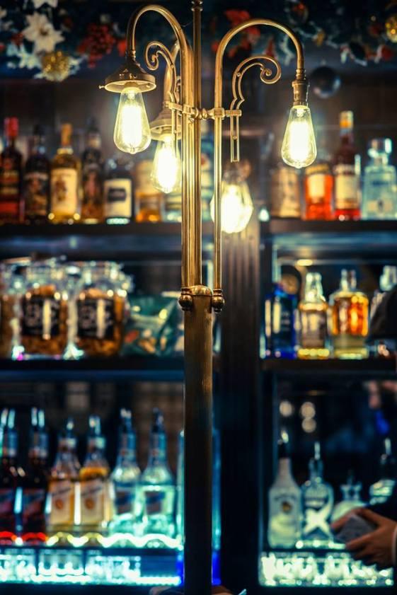 Bulls Head Birmingham bar light