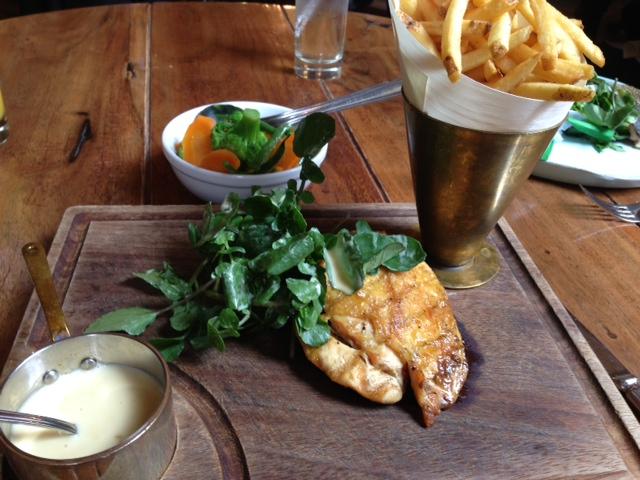 Hotel du Vin chicken with cider sauce
