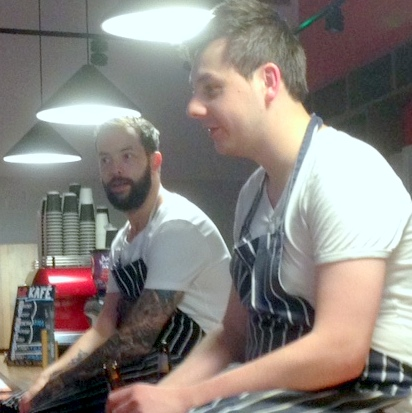 Mike and Josh from En place