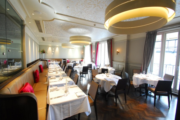 Restaurant 23 Leamington Spa main dining room