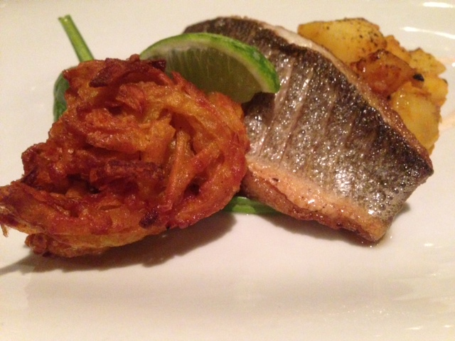 Rose & Crown sea bass