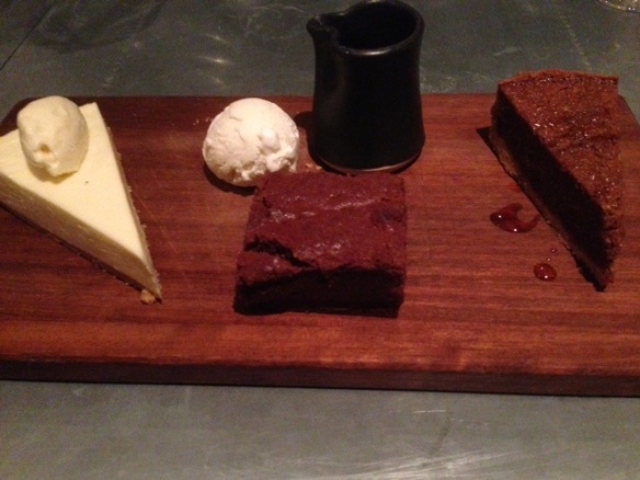 Rose & Crown winter desserts