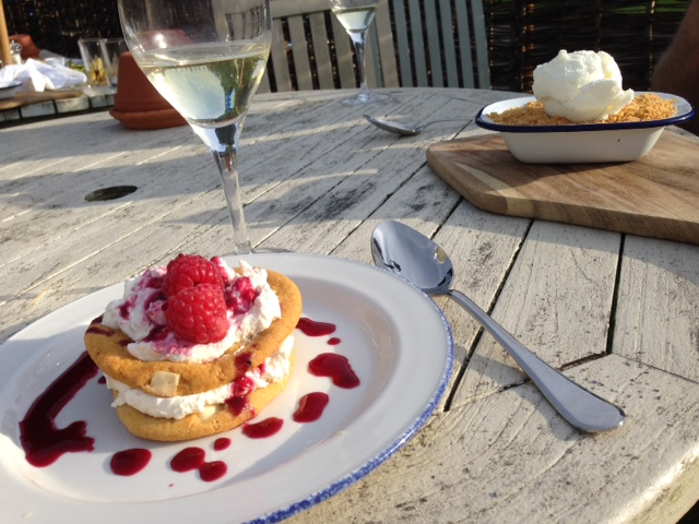 Ye Olde Saracens Head desserts