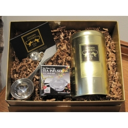 Golden Tea Monkey gift tin