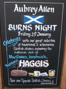 Aubrey Allen Burns Night