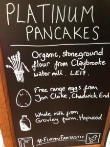 Platinum Pancakes