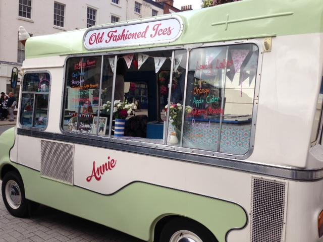 Annie's Ice Cream Van