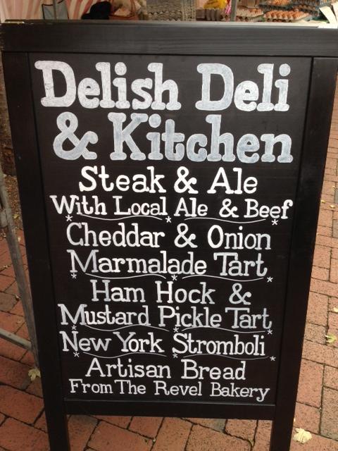 Delish Deli menu