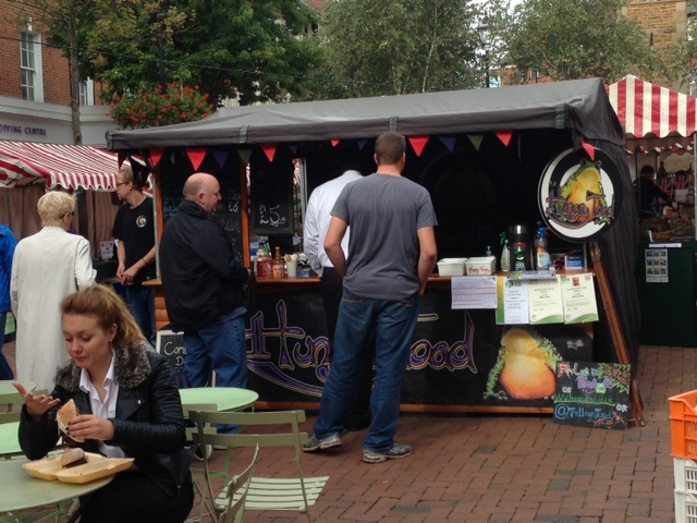 Hungry Toad at Rugby Food and Drink Festival