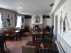 Regency Arms Leamington Spa dining room