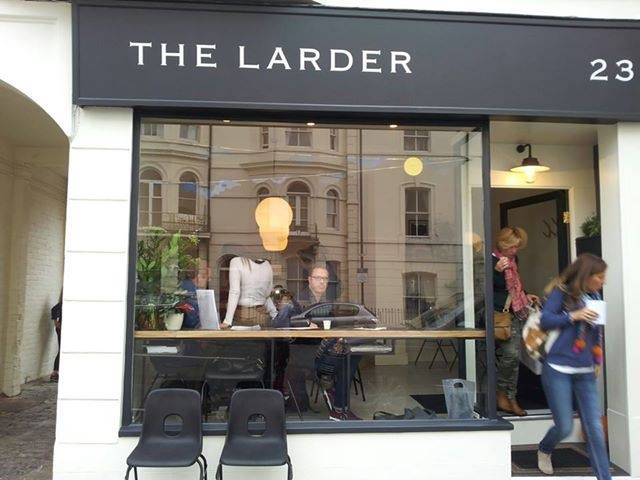 The Larder exterior