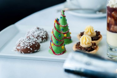 Hotel la Tour festive afternoon tea