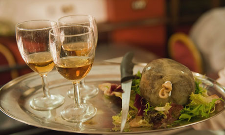 A traditional Burns Night supper