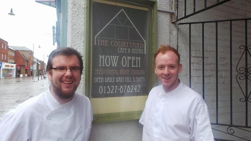 Nathan Eades and Grant Hill Epi Restaurant pop-up