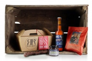 Ross & Ross Food Fathers Day spicy man box