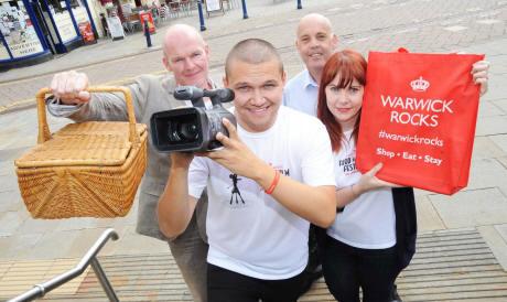 Warwick Rocks food and film festival Leamington Observer