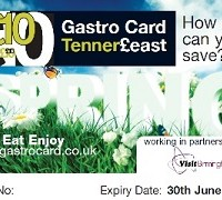 Gastro Card Tenner£east