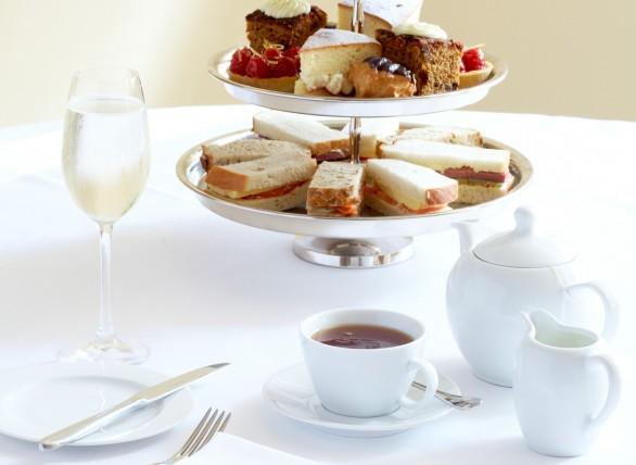 Harvey Nichols afternoon tea