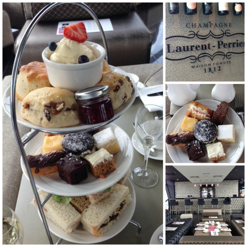 Laurent-Perrier afternoon tea