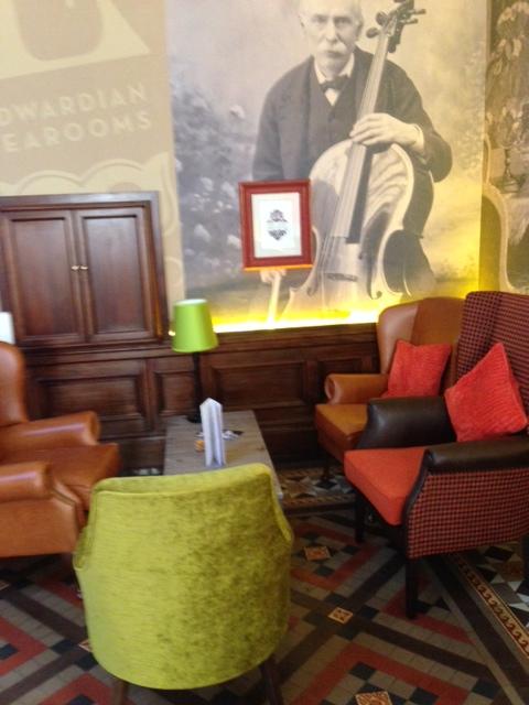 Interior Edwardian Tea Rooms BMAG