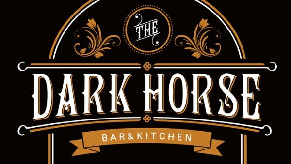 The Dark Horse Moseley logo design my night
