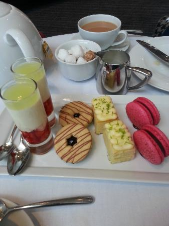 Hotel la Tour afternoon tea