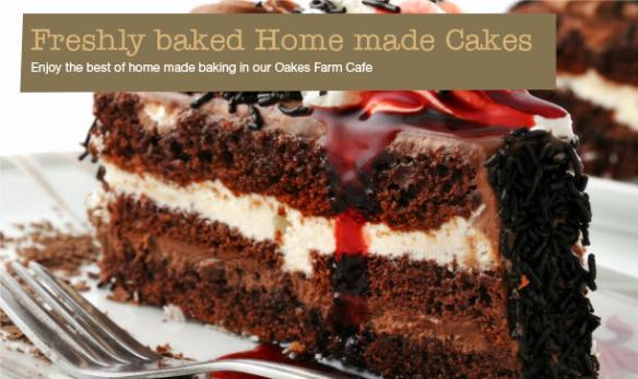 Oakes Farm Shop cake
