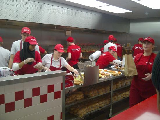 Five Guys Burgers Bullring