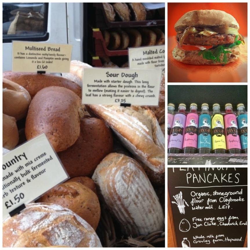 Nuneaton fine foods market