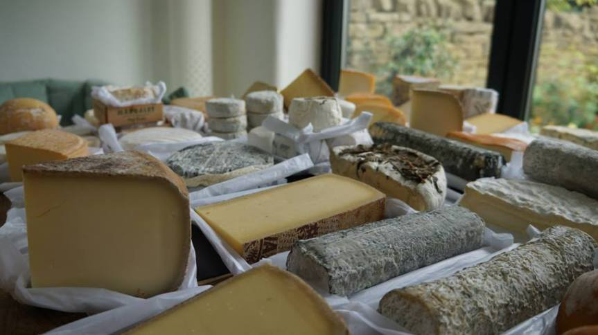 Cheeses from periodic table of cheese