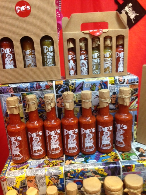Pips Hot Sauces gift bags