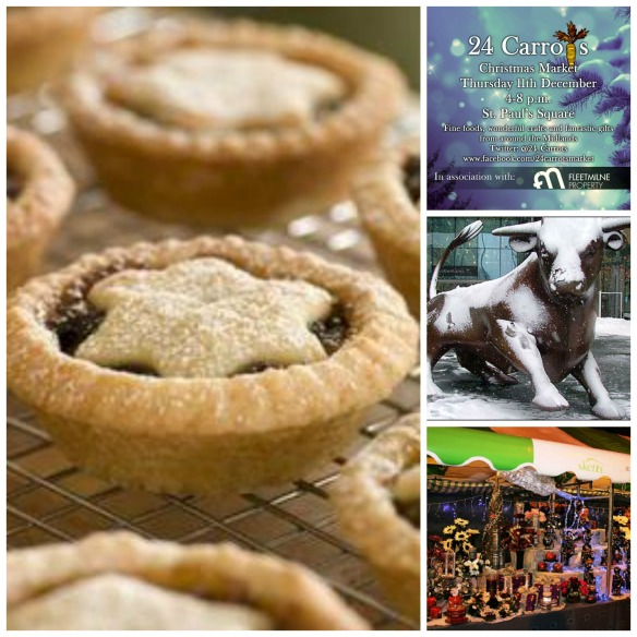 Christmas food markets 2014