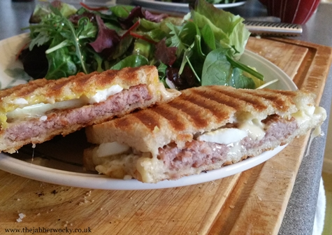The Jabberwocky scotch egg toastie