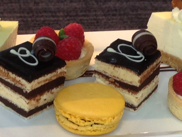 Hotel la Tour afternoon tea cakes
