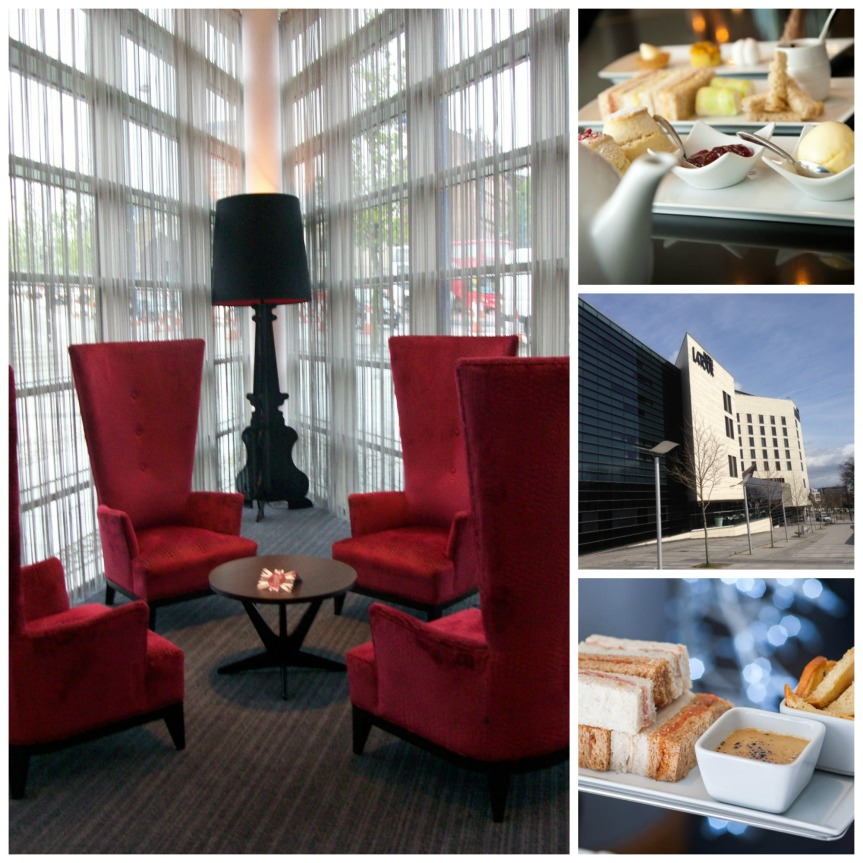 Hotel la Tour afternoon tea montage