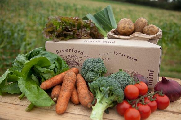 Riverford organic vegetable box