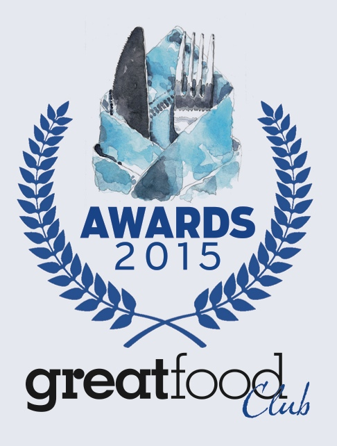 Great Food Club Awards 2015 logo