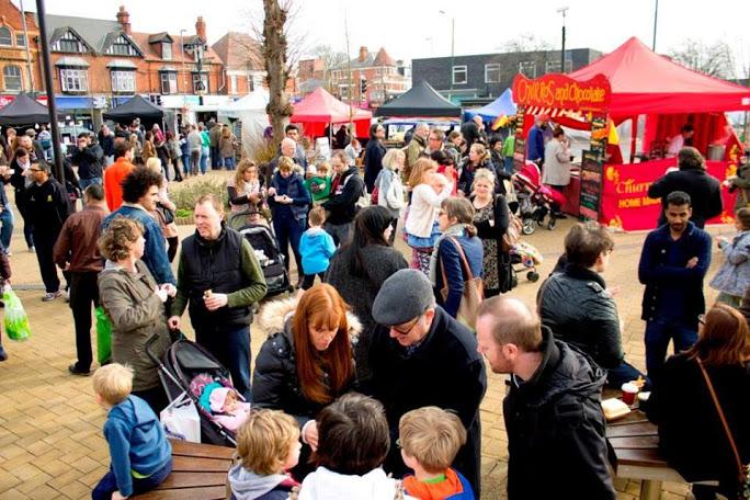 Brum Yum Yum street food market Kings Heath Birmingham