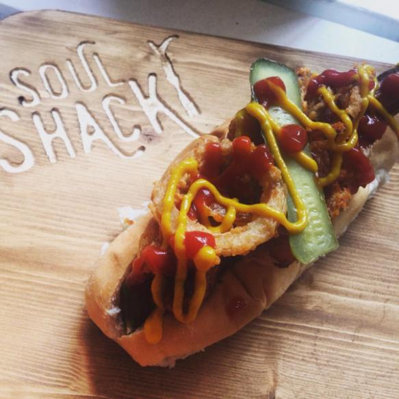 Soul Shack hotdog