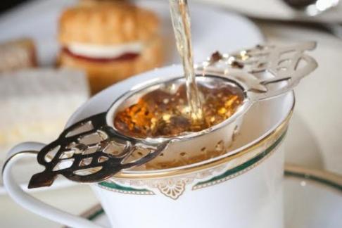 Warwick Castle afternoon tea