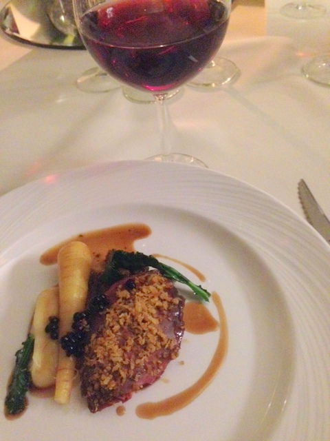 Mallory Court grouse dish