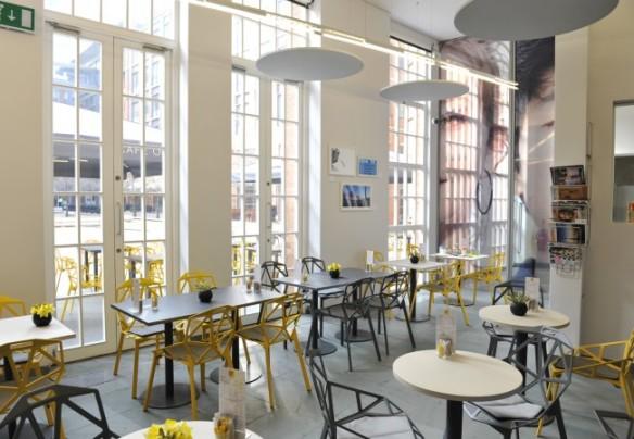 Cafe Opus Ikon gallery Birmingham