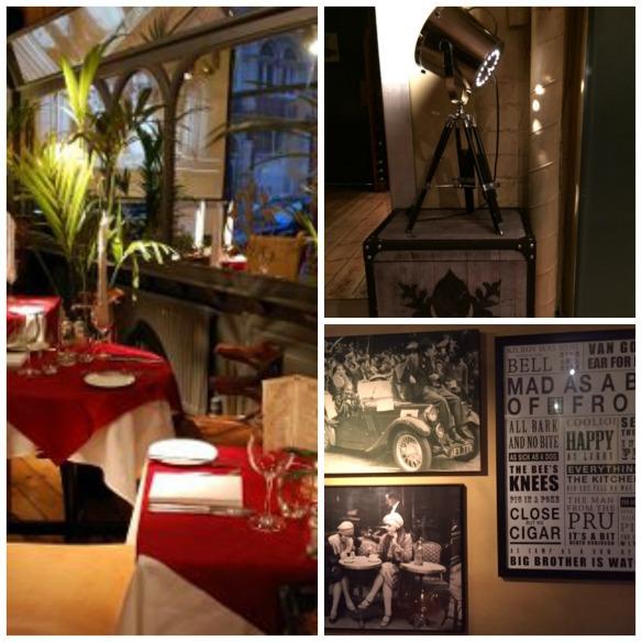 Annexe restaurant Birmingham interior