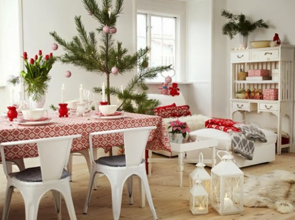Scandinavian Christmas Town and Country Living