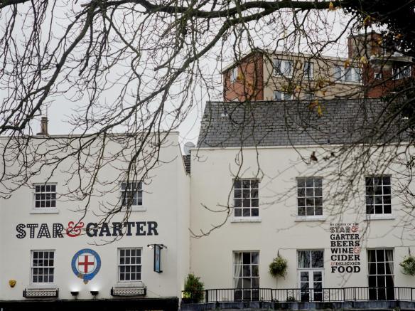 The Star & Garter exterior Leamington Spa
