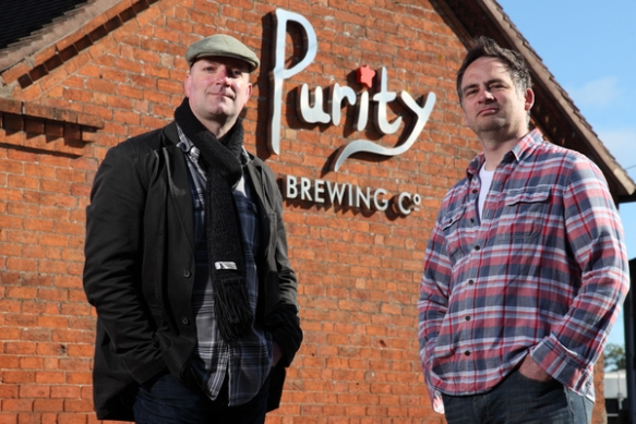 Purity Brewing founders