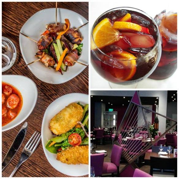 Amantia restaurant Birmingham montage