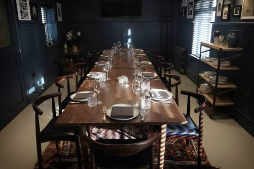 Next Door at the Plough private dining room